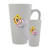 Full Color Latte Mug 17oz-York Rite DeMolay