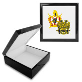 Ebony Black Accessory Box With 6 x 6 Tile-Scottish Rite DeMolay