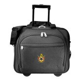 Embassy Plus Rolling Black Compu Brief-Emblem