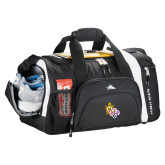 High Sierra Black 22 Inch Garrett Sport Duffel-York Rite DeMolay