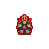 Emblem Patch Knighthood-2.5 inches