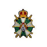 Emblem Patch Knighthood-5 inches