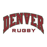 Medium Decal-Denver Rugby, 8 inches wide