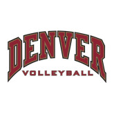 Medium Decal-Denver Volleyball, 8 inches wide
