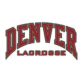 Medium Decal-Denver Lacrosse, 8 inches wide
