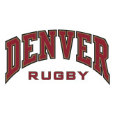 Large Decal-Denver Rugby, 12 inches wide