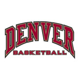 Large Decal-Basketball, 12 in W