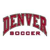 Large Decal-Soccer, 12 in W