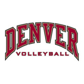 Large Decal-Volleyball, 12 in W