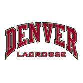 Large Decal-Lacrosse, 12 in W
