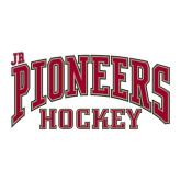 Large Decal-Jr. Pioneers Hockey, 12 in W