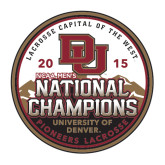 Large Decal-2015 National Champions, 12 in W