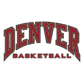 Large Decal-Denver Basketball, 12 inches wide