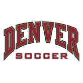 Large Decal-Denver Soccer, 12 inches wide