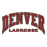 Large Decal-Denver Lacrosse, 12 inches wide