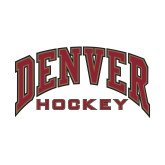 Small Decal-Denver Hockey, 6 inches wide
