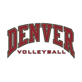 Small Decal-Denver Volleyball, 6 inches wide