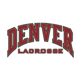 Small Decal-Denver Lacrosse, 6 inches wide