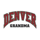 Small Decal-Denver Grandma, 6 inches wide