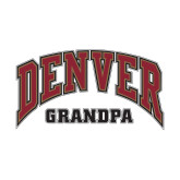 Small Decal-Denver Grandpa, 6 inches wide