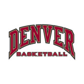 Small Decal-Basketball, 6 in W