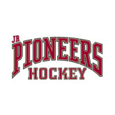 Small Decal-Jr. Pioneers Hockey, 6 in W
