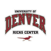 Small Decal-Ricks Center, 6 inches wide