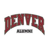 Alumni Decal-Denver Alumni, 6 inches wide