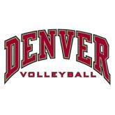 Extra Large Decal-Volleyball, 18 in W