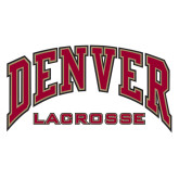 Extra Large Decal-Lacrosse, 18 in W