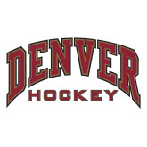 Extra Large Decal-Denver Hockey, 18 inches wide