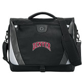 Slope Compu Black/Grey Messenger Bag-Arched Denver