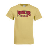 Champion Vegas Gold T Shirt-JR Pioneers Hockey