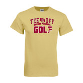 Champion Vegas Gold T Shirt-Golf Tee Off