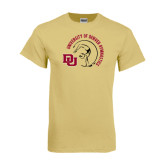 Champion Vegas Gold T Shirt-Denver Gymnastics Circle Design