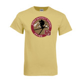 Champion Vegas Gold T Shirt-Skier Jumping Ski Design