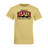 Champion Vegas Gold T Shirt-Lacrosse Capital of the West