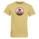 Champion Vegas Gold T Shirt-2015 National Champions