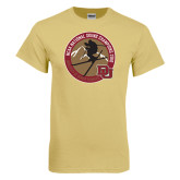 Champion Vegas Gold T Shirt-2016 National Skiing Champs
