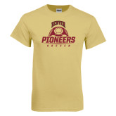 Champion Vegas Gold T Shirt-Pioneers Soccer Half Ball