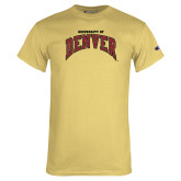 Champion Vegas Gold T Shirt-University of Denver