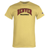 Champion Vegas Gold T Shirt-Denver Volleyball