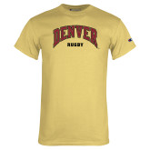 Champion Vegas Gold T Shirt-Denver Rugby
