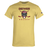 Champion Vegas Gold T Shirt-Denver Hockey