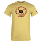 Champion Vegas Gold T Shirt-Pioneers Hockey