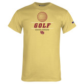 Champion Vegas Gold T Shirt-Denver Golf