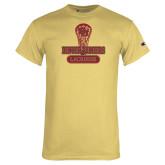 Champion Vegas Gold T Shirt-DU Lacrosse