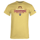 Champion Vegas Gold T Shirt-2018 Ice Hockey Champions