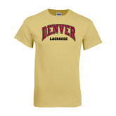 Champion Vegas Gold T Shirt-Lacrosse