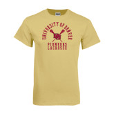Champion Vegas Gold T Shirt-Arched University of Denver Lacrosse
